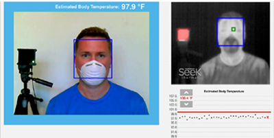 Seek Scan - Skin Temperature Screening - Seek Thermal Dealer India